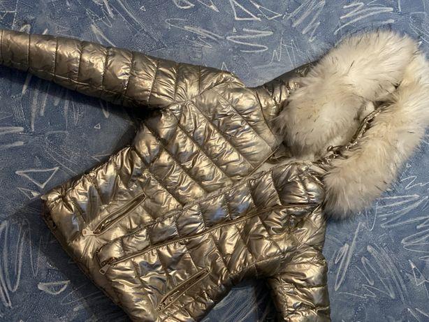Детский пуховик на зиму