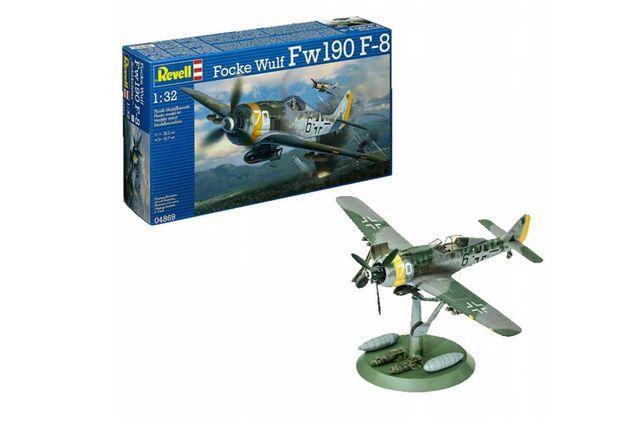Revell 04869 Focke Wulf Fw190 F-8 Skala: 1:32