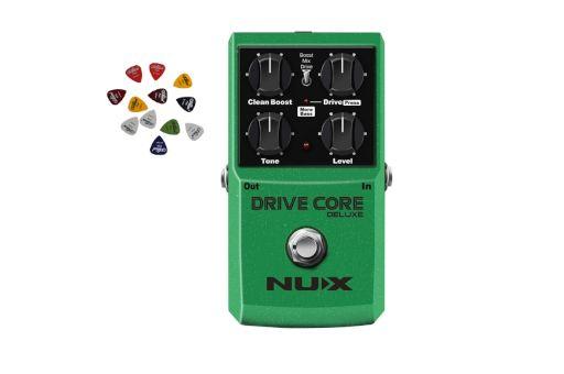Efekt gitarowy Drive Core Deluxe Nux +Darmowa Wysyłka+3 Piórka GRATIS!