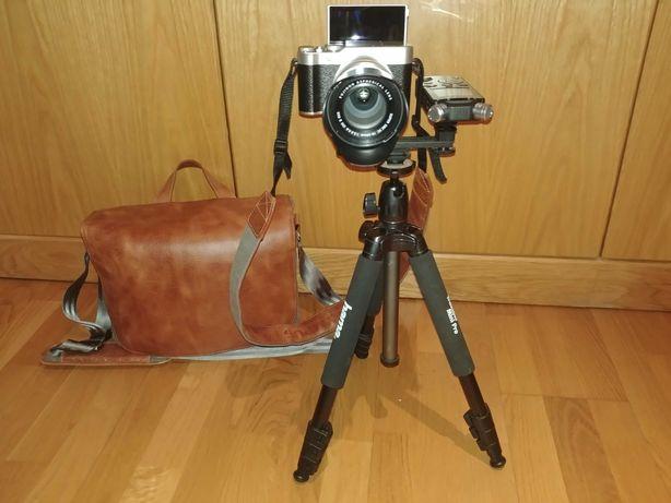 Câmara Fujifilm X-A10 + Olympus LS-14 (SEM USO)