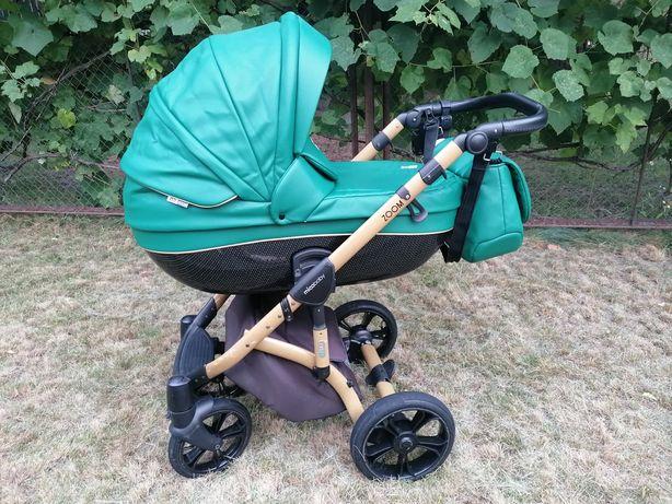 Универсальная коляска 2 в 1 Mioobaby Zoom Royal Edition Emerald Green
