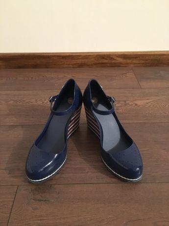 Sapatos Cunha Melissa Azul