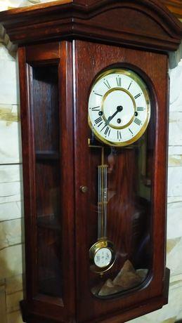 Pięknie grający zegar kwadransowy wiszący