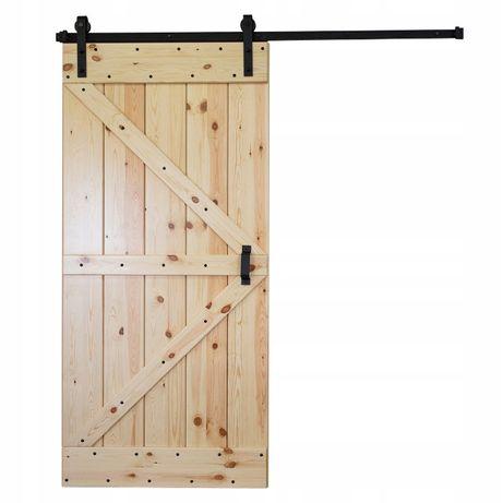 System loft prosty wysyłka z polski faktura 2m, 200cm barn door tani !