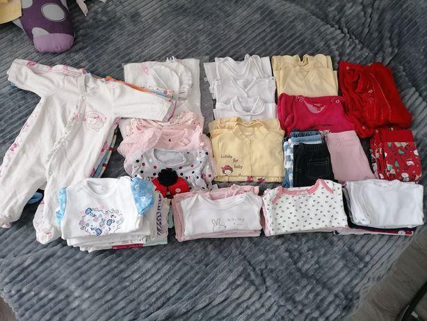 Paka / zestaw ubranek dla dziewczynki 56-74