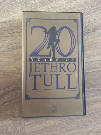 Jethro Tull kaseta VHS