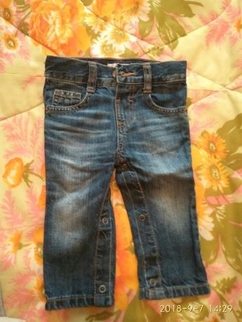 Штаны, джинсы, брюки 68, 74