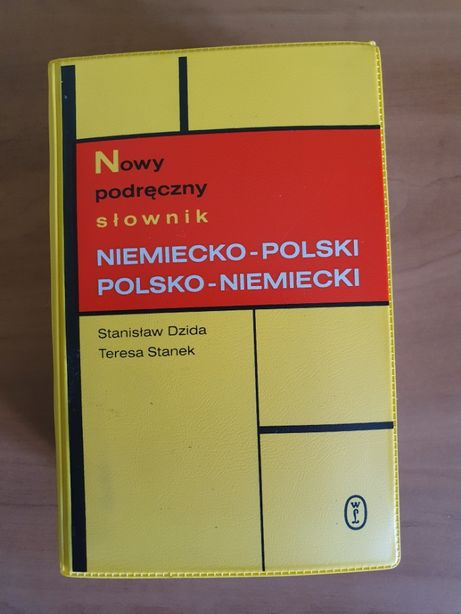 Nowy podręczny słownik niemiecko-polski polsko-niemiecki Dzida, Stanek
