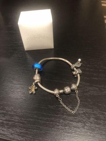 Pandora браслет с шармами