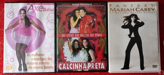 DVDs musicais originais