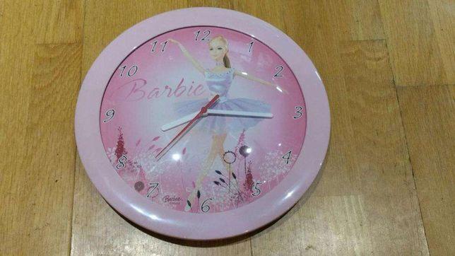 Relógio de parede Barbie