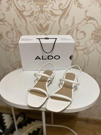 Идеальные летние белые босоножки Aldo Zara Dutti Uterque