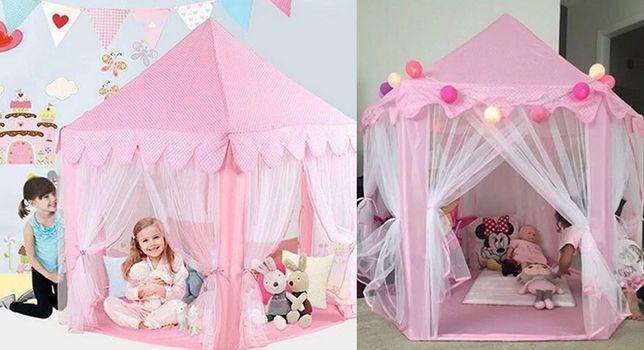 Палатка детская шатер 140*140*135 см вігвам палатка дитяча ПАЛАТКИ