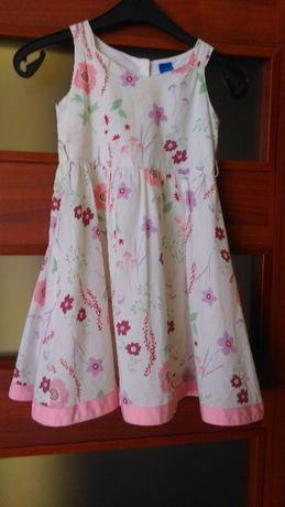 Sukienka dla 4-5 latki r.104