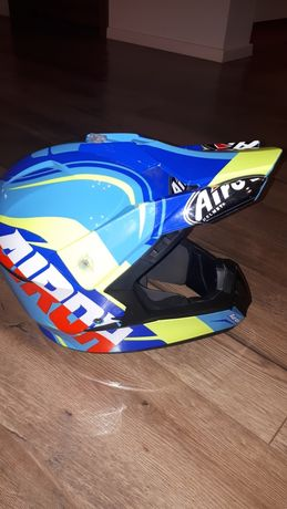 Kask, cross, enduro, L Airoh SWITCH Sign Blue Gloss