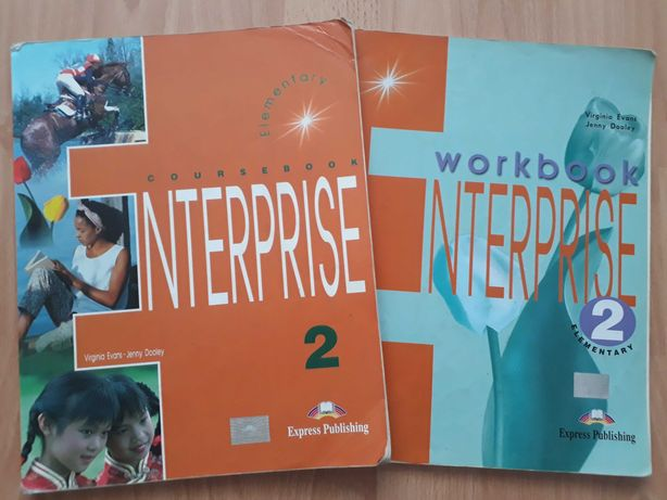 Enterprise 2 (учебник + тетрадь)