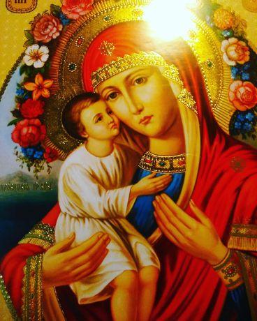 Икона Богородица с Иисусом  Ікона Богородиця з Ісусом