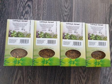 Korzeń Lukrecji 4 x 50g + liść brzozy 50 g