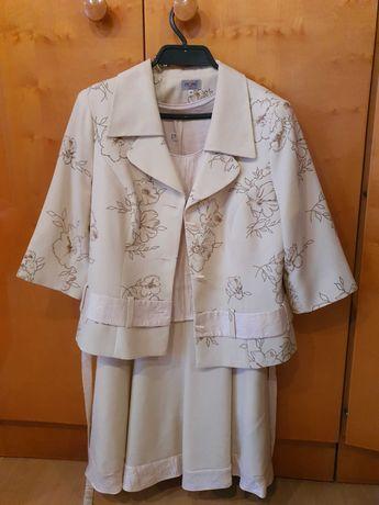 Kostium damski 42 elegancki  sukienka wesele impreza