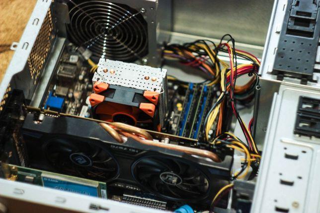 Компьютер для игр, работы, учебы. Универсал. 8 core CPU, 16GB+Подарок!