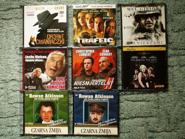 """filmy DVD """"z gazet"""" 8szt."""