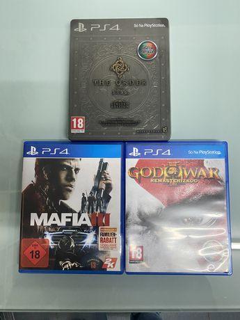 3 jogos Playstation 4