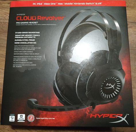 Słuchawki gamingowe nauszne HyperX Cloud Revolver Gun Metal Pro Gaming