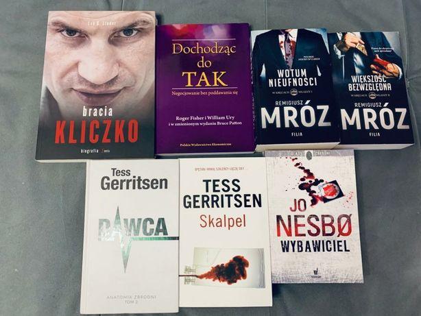 Książki / Literatura Nesbo Gerritsen Mróz Kliczko