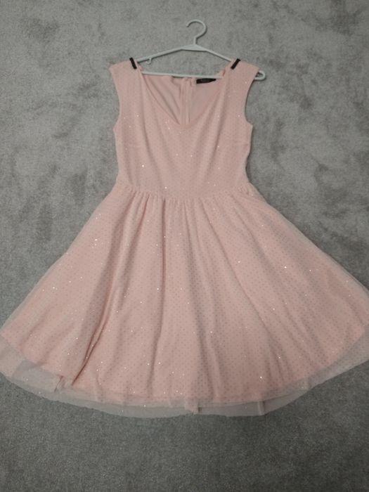 Mohito sukienka tiulowa brokatowa błyszcząca sylwester 36 38 Ełk - image 1