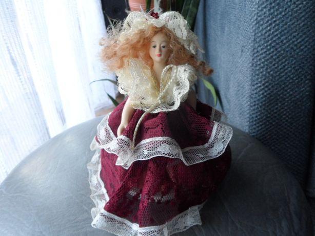 pozytywka lalka ceramiczna porcelanowa