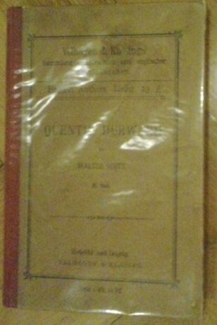 Quentin Durward by Sir Walter Scott 23A