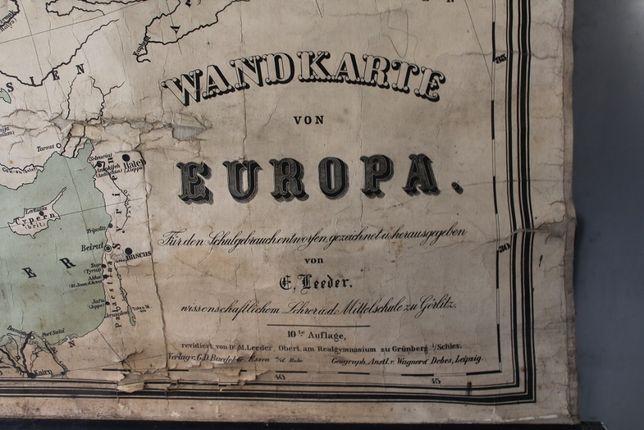 Stara mapa Europy