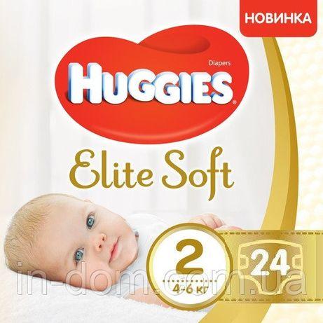 Памперсы Huggies Elite Soft, 2