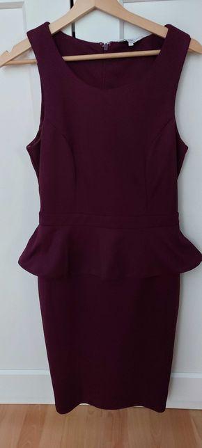 Purpurowa sukienka New Look, rozmiar 12 (M)