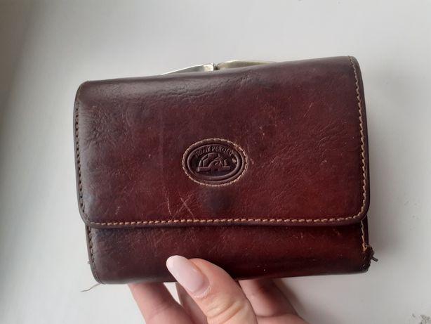 Кожаный кошелёк Tony Perotty