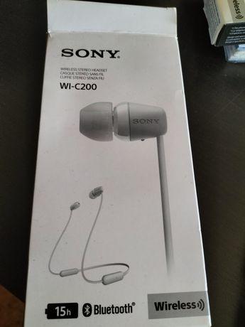 Headphones Sony WI-C200