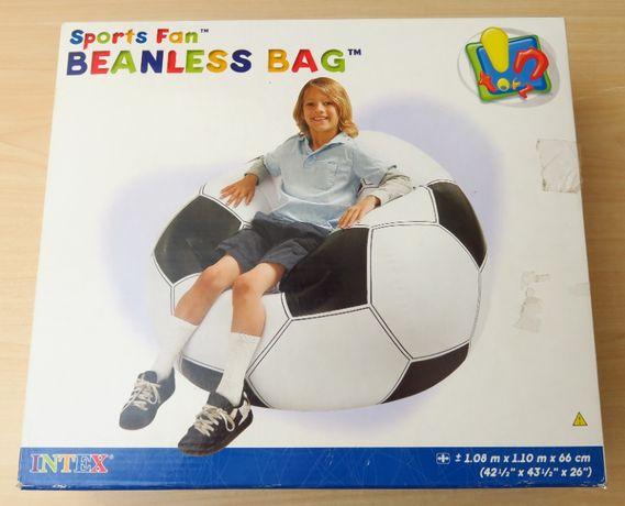 Надувное кресло Intex 68557 Футбольный мяч, 110 х 108 х 66 см