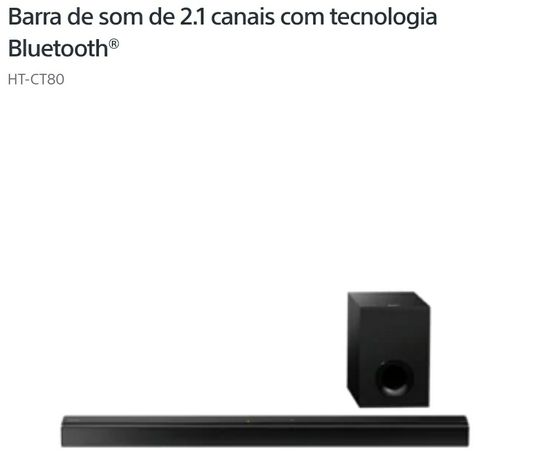 Vendo soundbar sony  HT-CT80