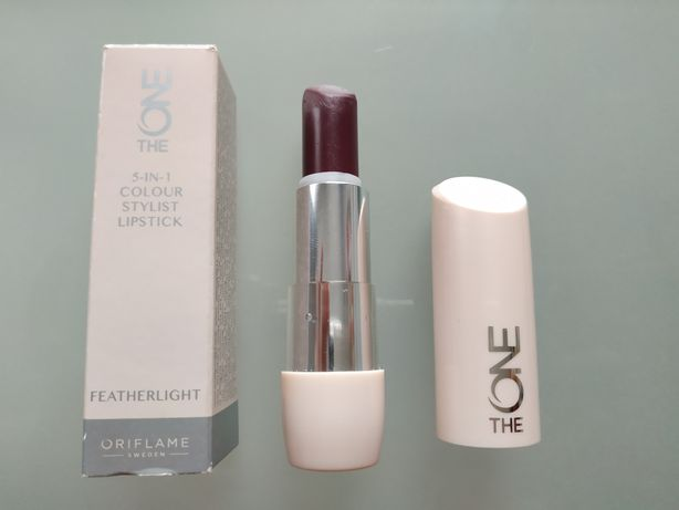 Oriflame the one szminka featherlight 5-in-1 Mulberry meringue