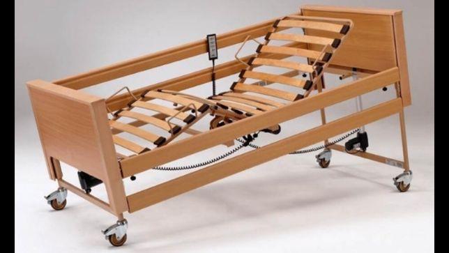Łóżko rehabilitacyjne szpitalne elektryczne