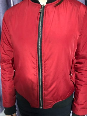 """Весенняя куртка """"бомбер"""" размер 42"""