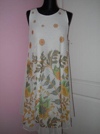 Lekkie, cienkie sukienki, tuniki, uniwersalny, nowe