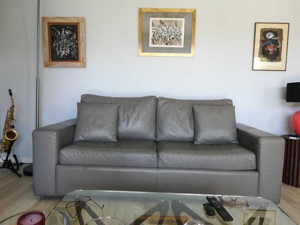 Sofa cama de pele Bo Concept