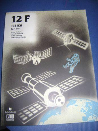 livros Física 12 F + caderno de atividades