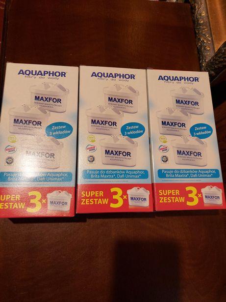 Filtr do wody Aquaphor Maxfor B25.Cena za 9 sztuk.