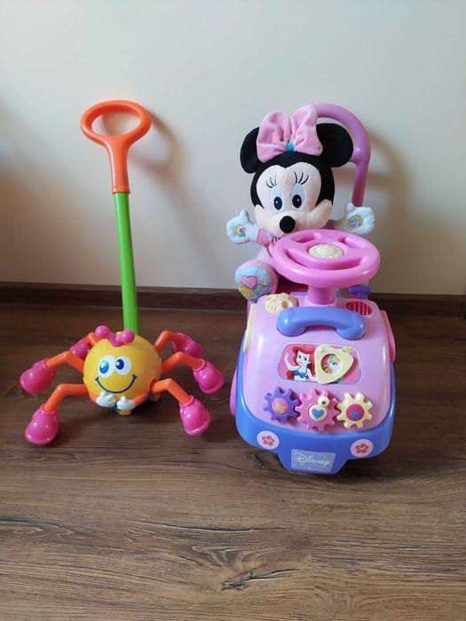 Zestaw zabawek jeździk, Minnie Lutosławice Rządowe - image 1