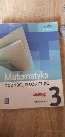 Podręcznik Matematyka poznać, zrozumieć 3