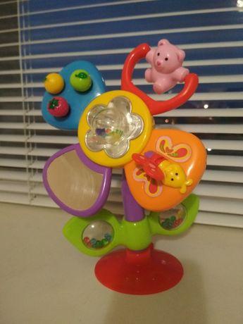 Развивающая игрушка на присоске Цветик от kiddieland