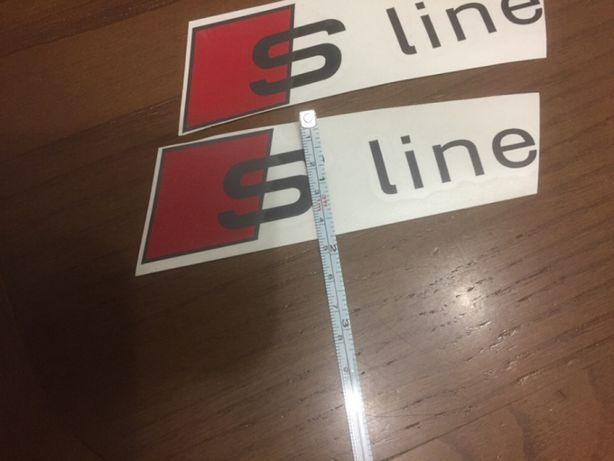 Autocolantes decalcáveis S-line (Vários)