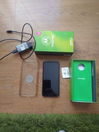 Telefon Motorola g6 plus nfc szkło hybrydowe